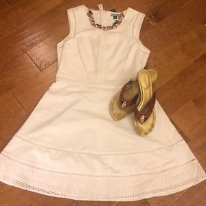 Cynthia Rowley Size 10 White Dress